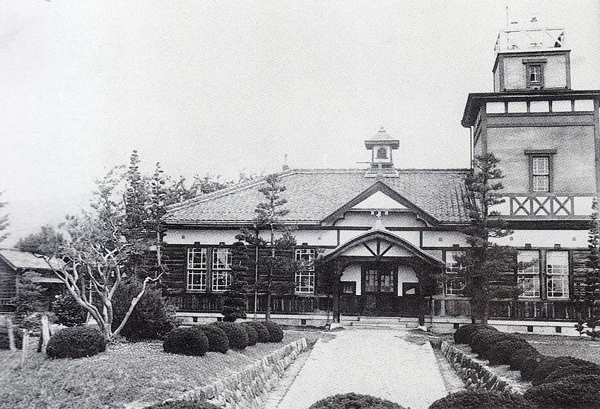 建築当時の旧測候所